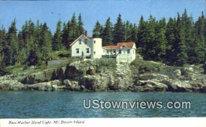 Bass Harbor Light - Mt. Desert Island, Maine ME Postcard