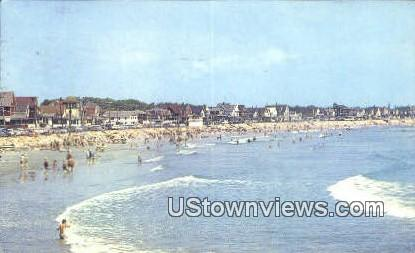 Long Sands Beach - York Beach, Maine ME Postcard