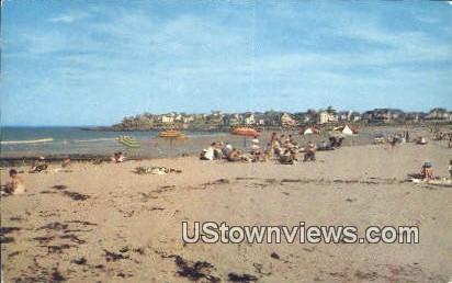 York Beach, ME,     ;     York Beach, Maine Postcard
