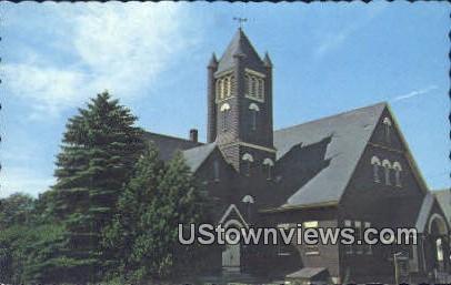 Congregational Church - York Beach, Maine ME Postcard