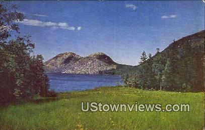 Jordan Pond, Acadia National Park - Mt. Desert Island, Maine ME Postcard