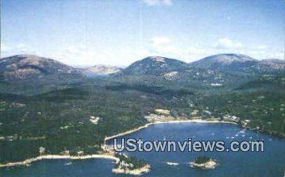 Acadia National Park, Maine,     ;     Acadia National Park, ME Postcard