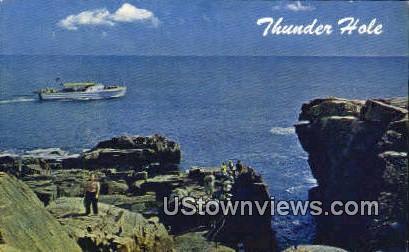 Thunder Hole - Acadia National Park, Maine ME Postcard
