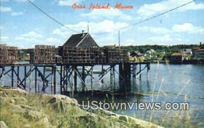 Orrs Island, Maine,     ;     Orrs Island, ME Postcard
