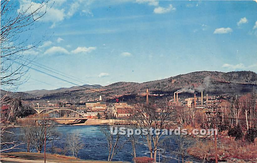 Banking Centers - Rumford, Maine ME Postcard