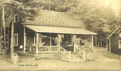 The Phyllis - Rockwood, Maine ME Postcard