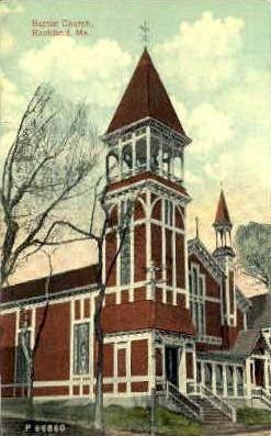 Baptist Church - Rockland, Maine ME Postcard