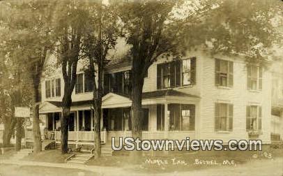Real Photo, Maple Inn - Bethel, Maine ME Postcard