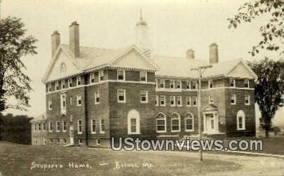 Real Photo, Students Home - Bethel, Maine ME Postcard