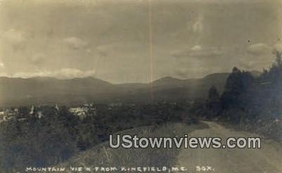 Kingfield, ME,,      Kingfield, Maine Postcard