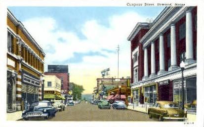 Congress St. - Rumford, Maine ME Postcard
