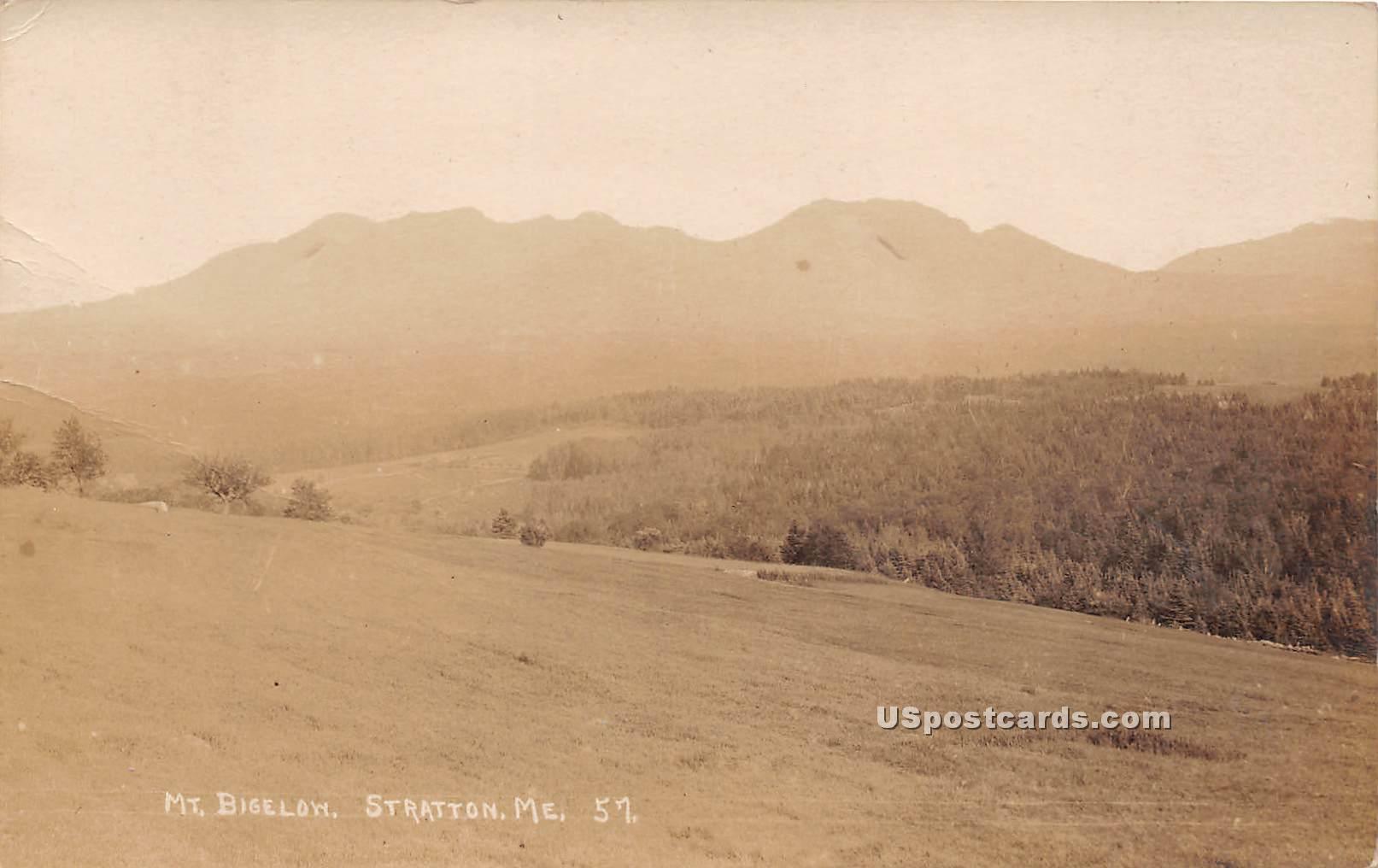 Mount Bigelow - Stratton, Maine ME Postcard