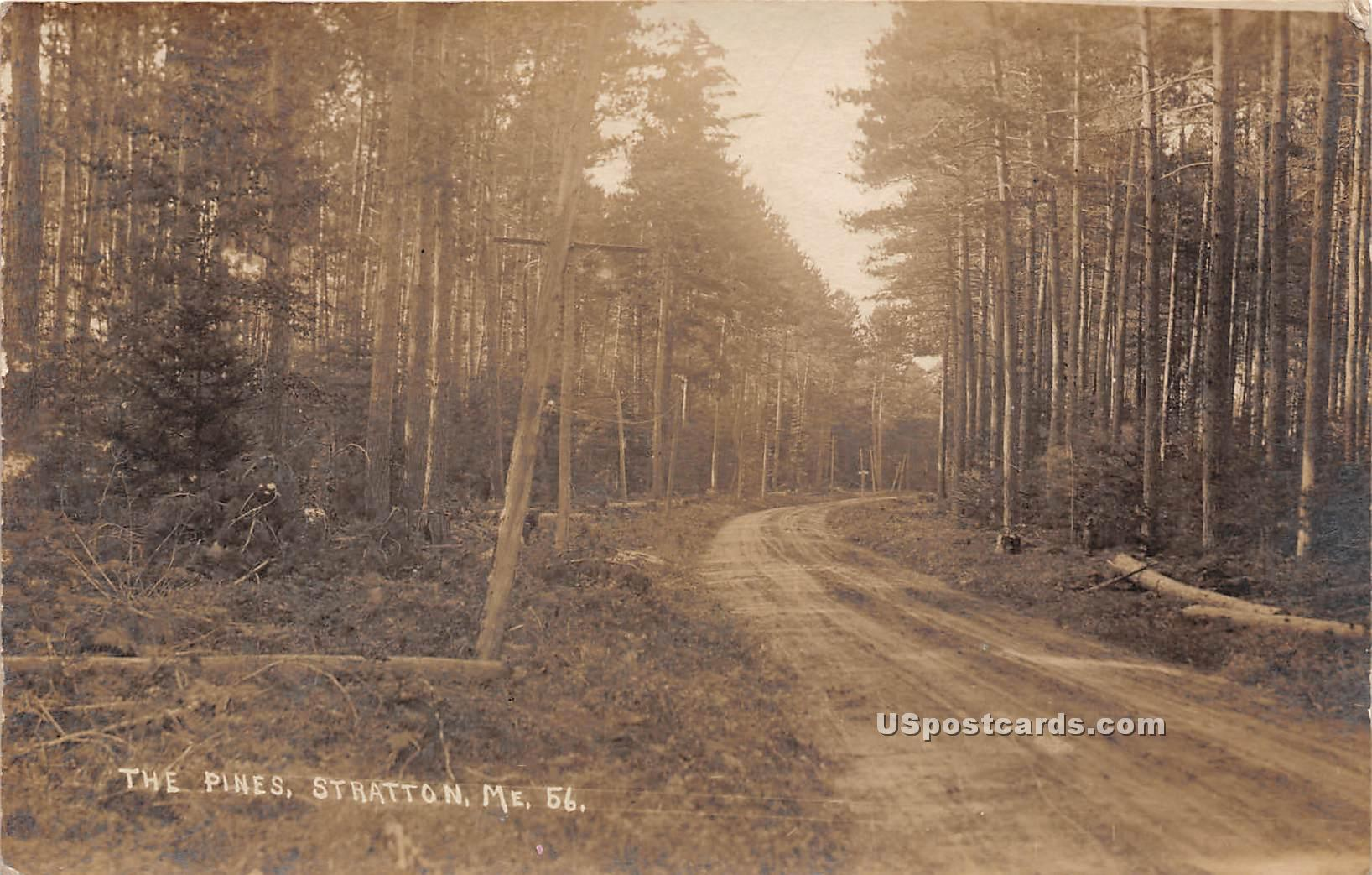 The Pines - Stratton, Maine ME Postcard