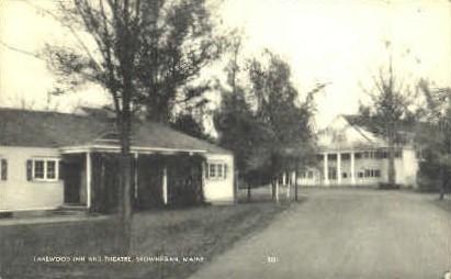 Lakewood Inn & Theatre - Skowhegan, Maine ME Postcard