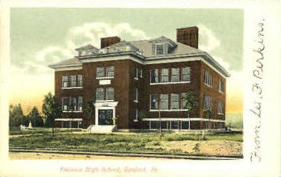 Emerson High School - Sanford, Maine ME Postcard