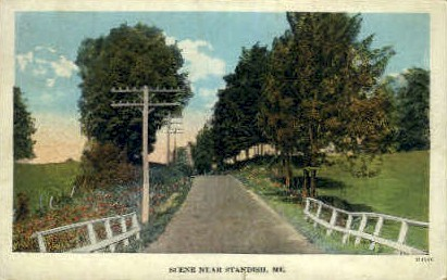 Standish, Maine, ME Postcard