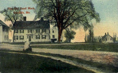 The Old Land Mark - Standish, Maine ME Postcard