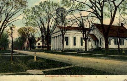 Congregational Church - Saybrook, Maine ME Postcard