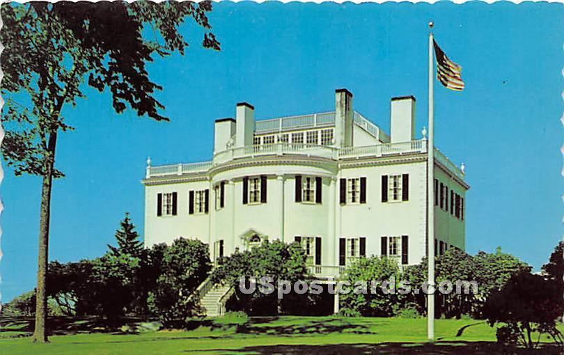 Montpelier home of General Henry Knox, President Washington's first Secretary of War - Thomaston, Maine ME Postcard