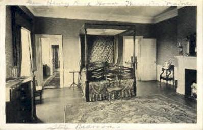 Henry Knox House - Thomaston, Maine ME Postcard