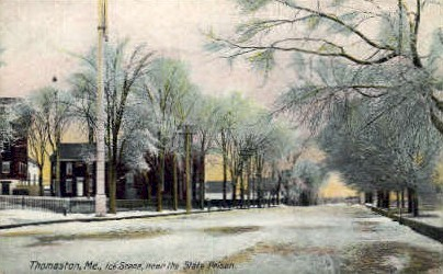 Thomaston, Maine, ME Postcard