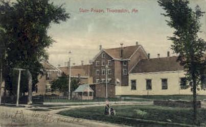 State Prison - Thomaston, Maine ME Postcard