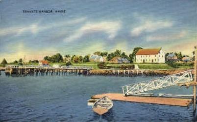 Tenants Harbor - Thomaston, Maine ME Postcard