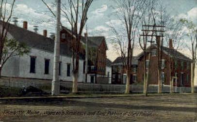 Warden's Residence - Thomaston, Maine ME Postcard