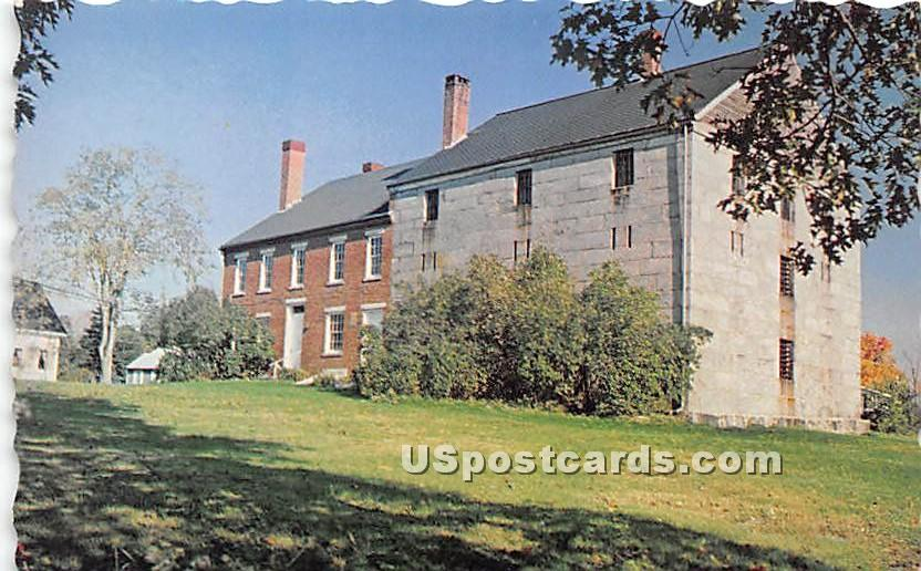 The Old Lincoln County Jail - Wiscasset, Maine ME Postcard