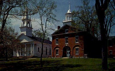 The Old First Congregational Church - Wiscasset, Maine ME Postcard