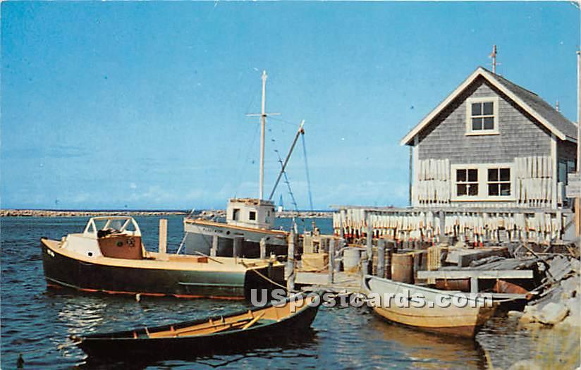 Greetings from - York Beach, Maine ME Postcard