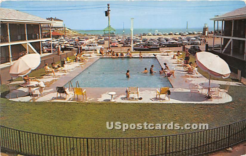 Sands Motel - York Beach, Maine ME Postcard