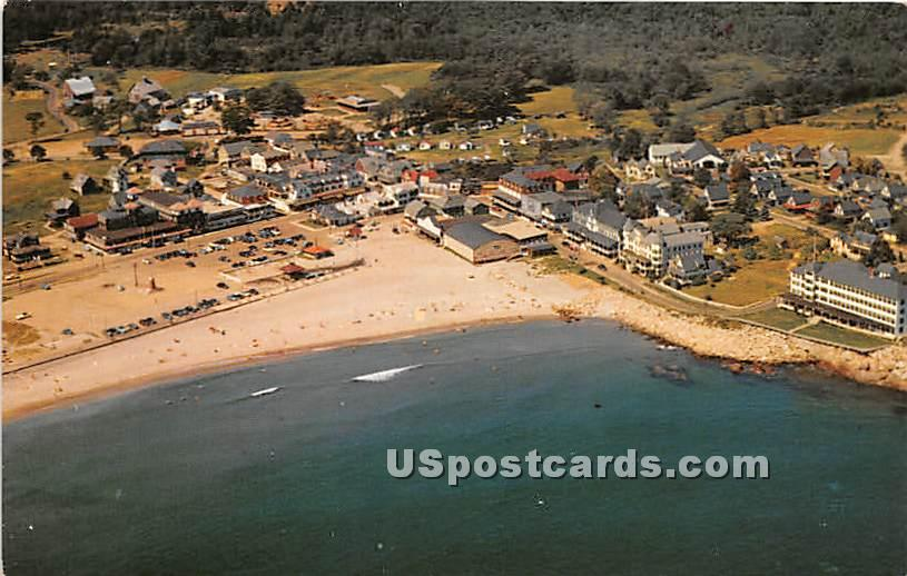Aerial View of Short Sands - York Beach, Maine ME Postcard
