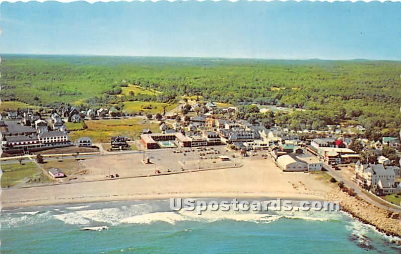 Short Sands Beach - York Beach, Maine ME Postcard