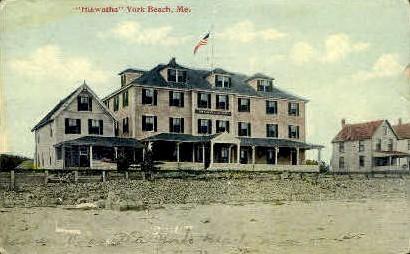 Hiawatha - York Beach, Maine ME Postcard