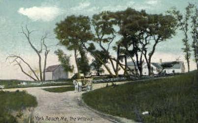 The Willows - York Beach, Maine ME Postcard