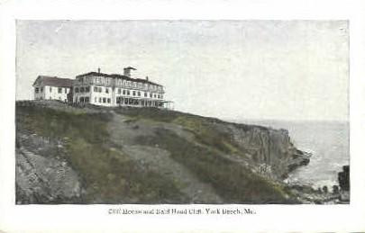 Cliff House & Bald Head Cliff - York Beach, Maine ME Postcard