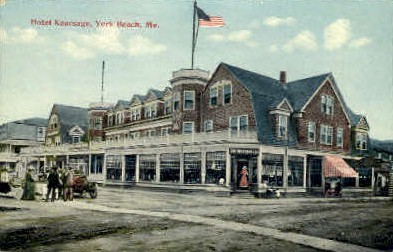 Hotel Kearsage - York Beach, Maine ME Postcard
