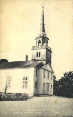 The Old Meeting House - Yarmouth, Maine ME Postcard
