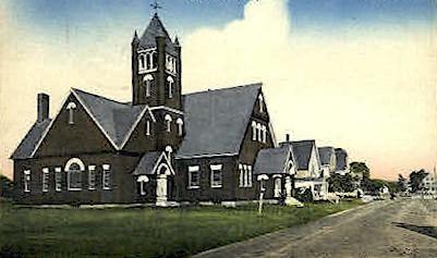 Union Congregational Church - York Beach, Maine ME Postcard