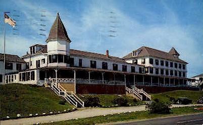 Ocean House - York Beach, Maine ME Postcard