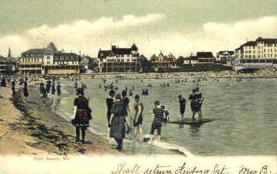 York Beach, Maine, ME Postcard