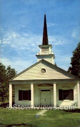 Grand Lake Chapel - Alpena, Michigan MI Postcard