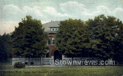 Tappan Hall, University of Michigan - Ann Arbor Postcard