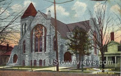 Bethlehem Chruch - Ann Arbor, Michigan MI Postcard
