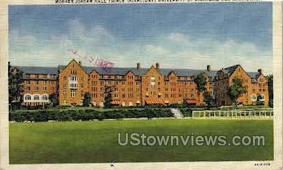 Mosher Jordan Hall, University of Michigan - Ann Arbor Postcard