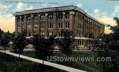 Chemical Building, University of Michigan - Ann Arbor Postcard