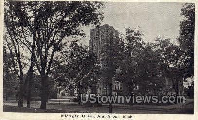 Michigan Union - Ann Arbor Postcard