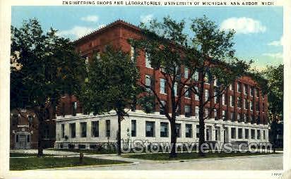 University of Michigan - Ann Arbor Postcard
