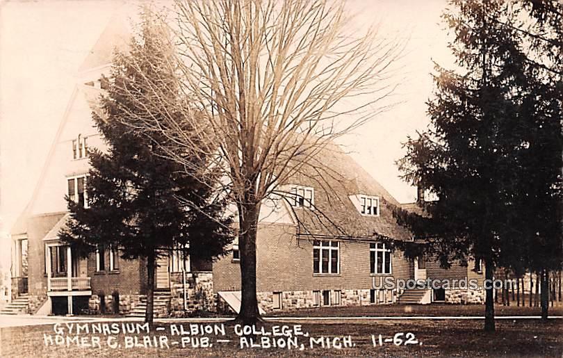 Albion College - Michigan MI Postcard